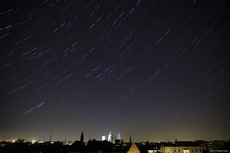 Gent star trails 20130803
