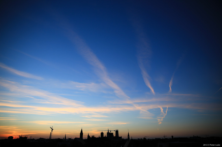Gent Sunrise 20130805 6.08am
