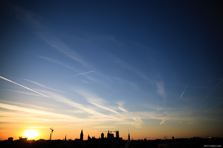 Gent Sunrise 20130805 6.32am