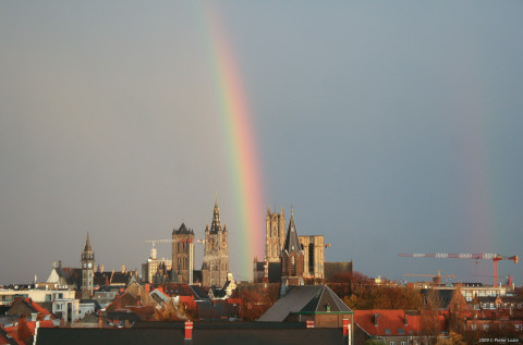 Gent Rainbow 20091122 6.44pm