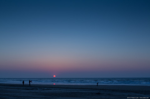 Blankenberge Sunset 20140419