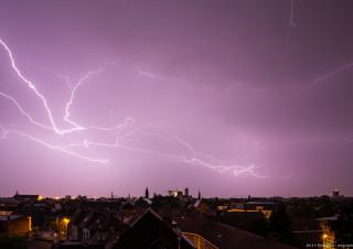 Gent Lightning 20140609 3.40am