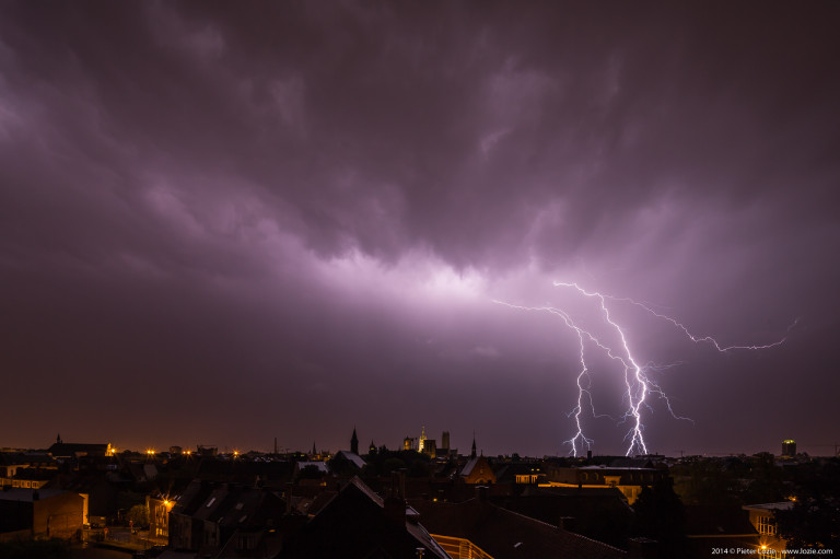 Gent Lightning 20140609 2.55am