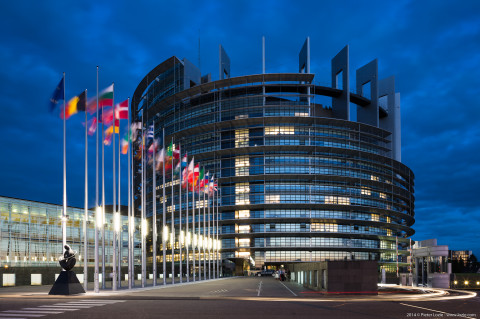 European Parlement, Strassbourg, France