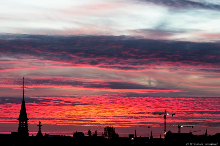 Gent Sunrise 20141018
