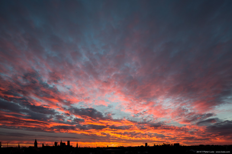 Gent Sunrise 20141107