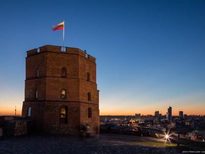 Gediminas Tower, Upper Castle, Vilnius