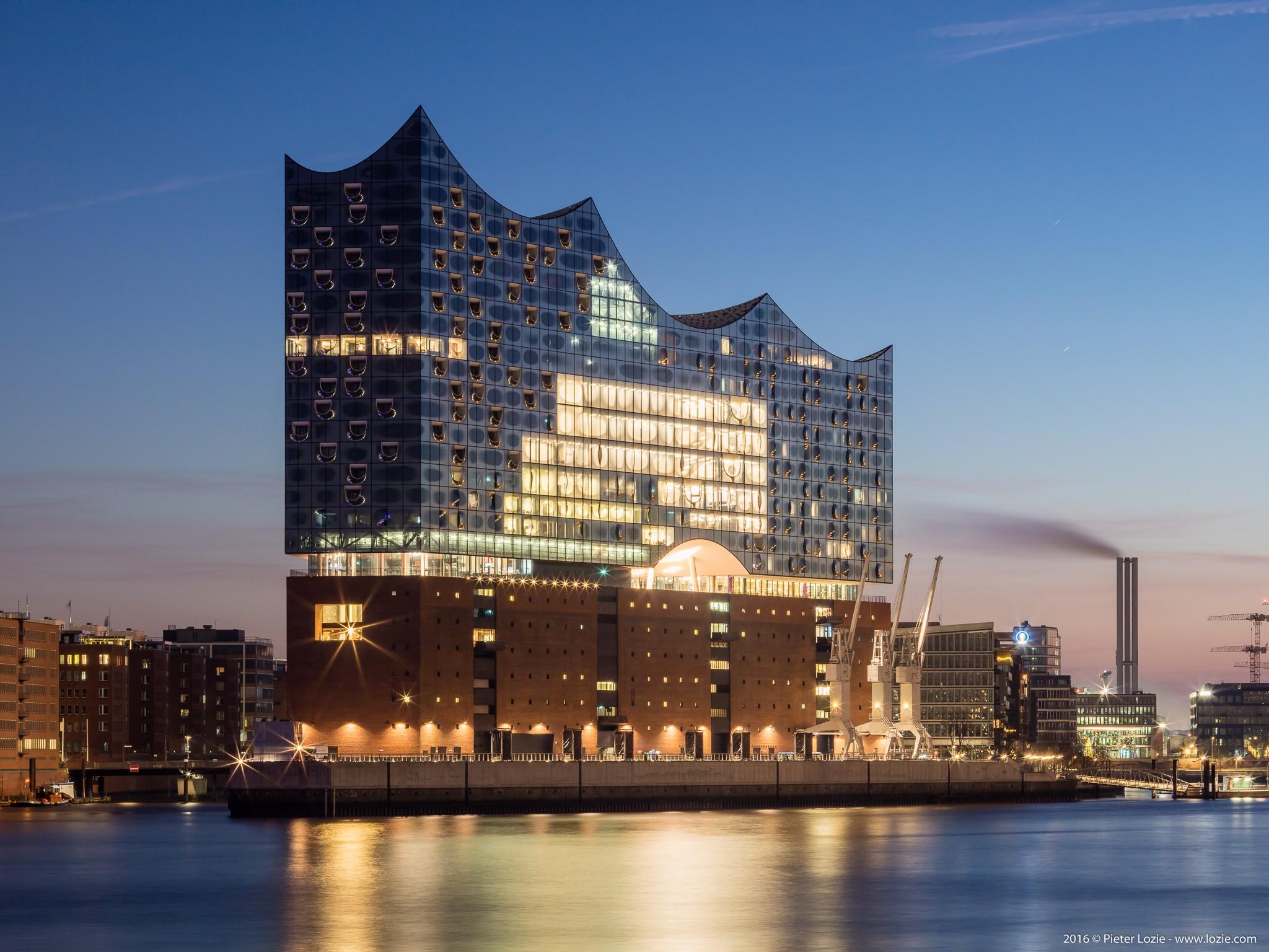 Elbphilharmonie Hamburg Germany Pieter Lozie Photography