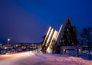 Ishavskatedralen – The Arctic Cathedral, Tromso, Norway