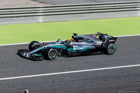 Lewis Hamilton F1 Grand Prix Barcelona 2017