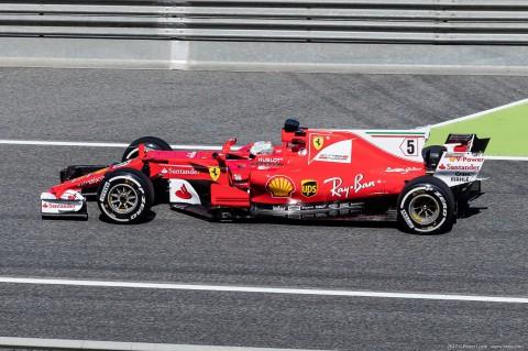 Sebastian Vettel F1 Grand Prix Barcelona 2017