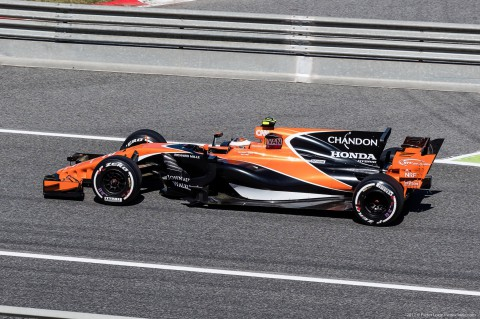 Stoffel Vandoorne F1 Grand Prix Barcelona 2017