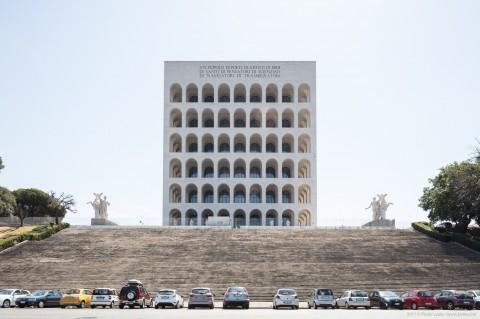 Palazzo della Civiltà del Lavoro, Rome, Italy
