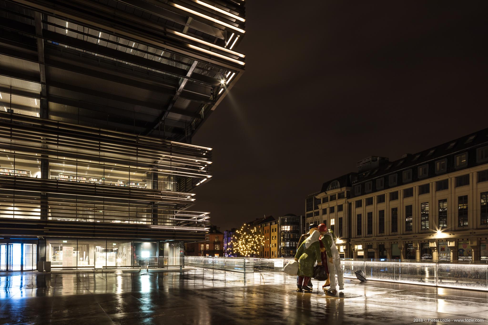 De Krook & Een warm nest, Lichtfestival 2018, Gent