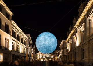 Museum of the Moon, Lichtfestival 2018, Gent
