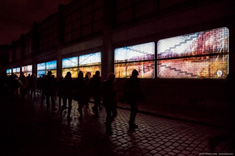 Voiture 21, Lichtfestival 2018, Gent