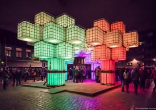 Pixel Forrest, Lichtfestival 2018, Gent