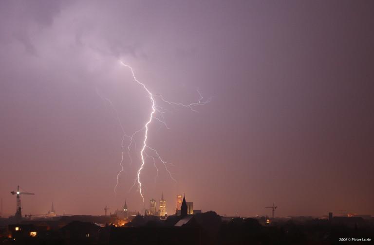 Gent Lightning 20060613 10.44pm