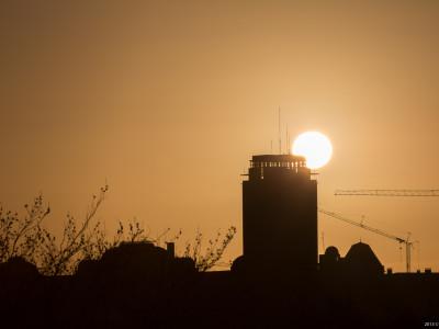 Gent Sunrise 20140105 9.11am