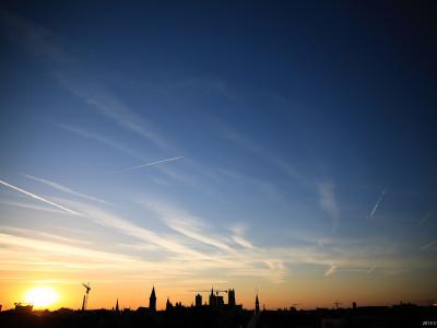 Gent Sunrise 20130805 6.32am