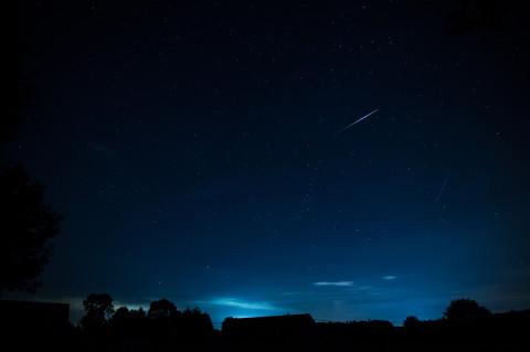 Perseides Shooting Star 20130811 11.26pm