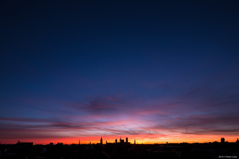 Gent Sunrise 20140224 7.10am