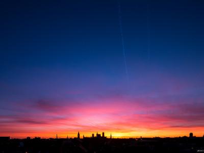 Gent Sunrise 20140224 7.18am