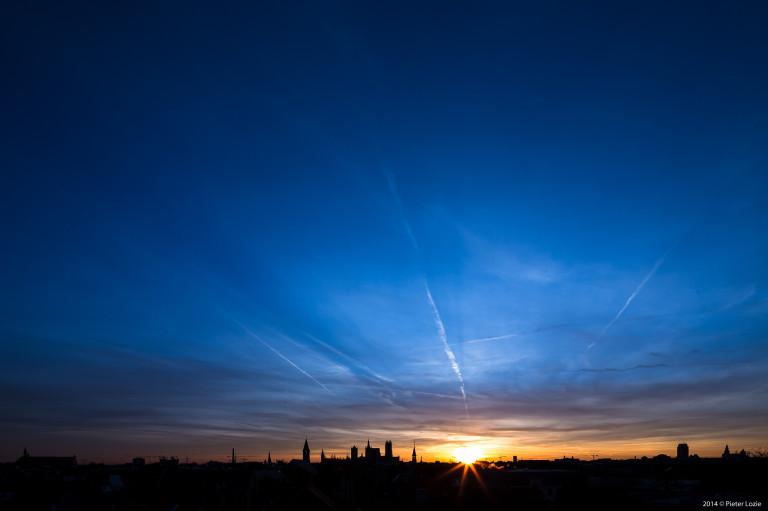Gent Sunrise 20140224 7.44am