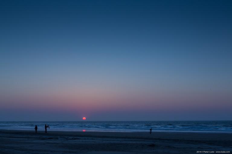Blankenberge Sunset 20140419
