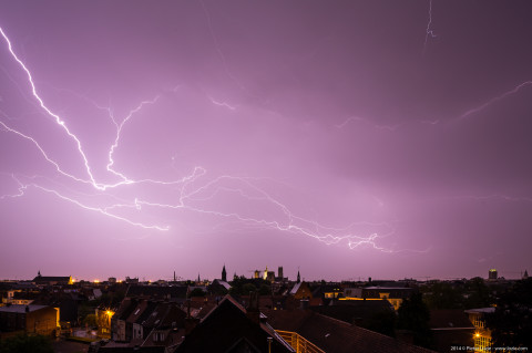 Gent Lightning 20140609 3.40am