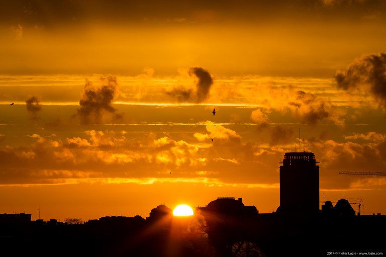 Gent Sunrise 20141207