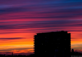 Gent Sunset 20150305