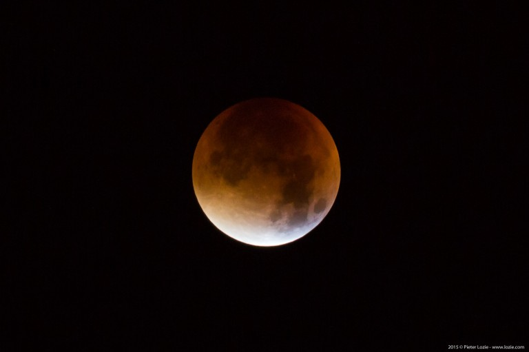 Super Bloody Moon Eclipse 2015