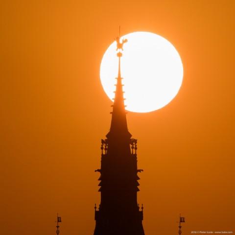 Gent Sunrise 20160915 7.55am