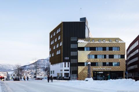 Quality Hotel Saga, Tromso, Norway