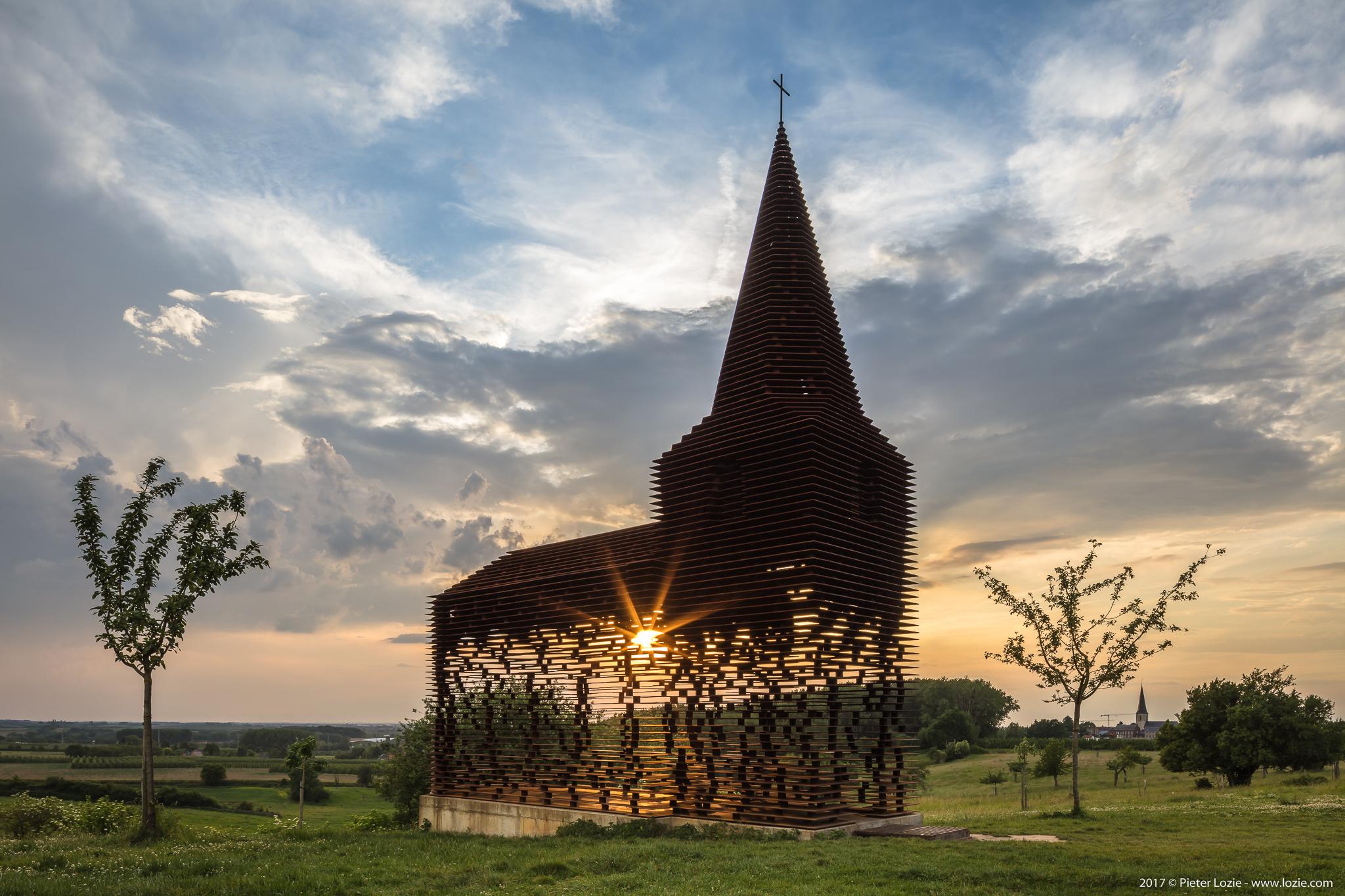 Doorkijkkerkje, Borgloon, Belgium - Gijs Van Vaerenbergh architects