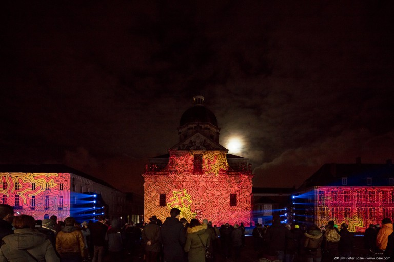 Time Paradox, Lichtfestival 2018, Gent