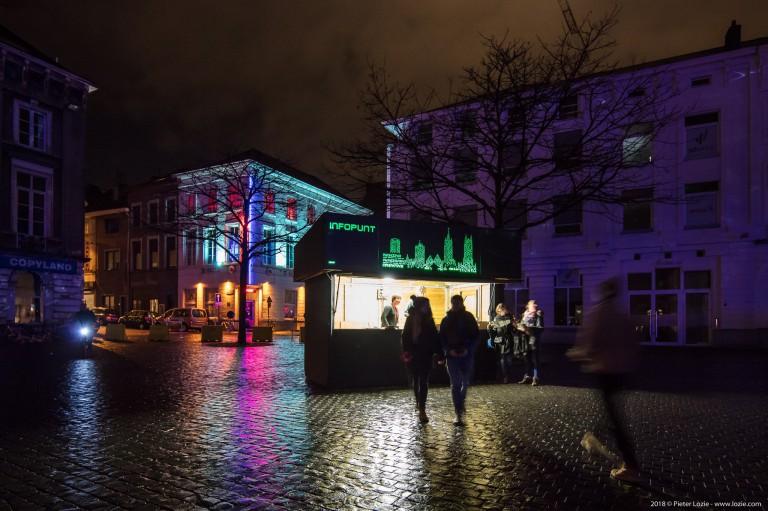 Infopunt, Lichtfestival 2018, Gent