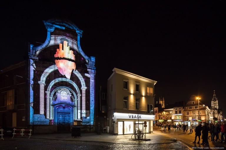 Ukiyo, Lichtfestival 2018, Gent