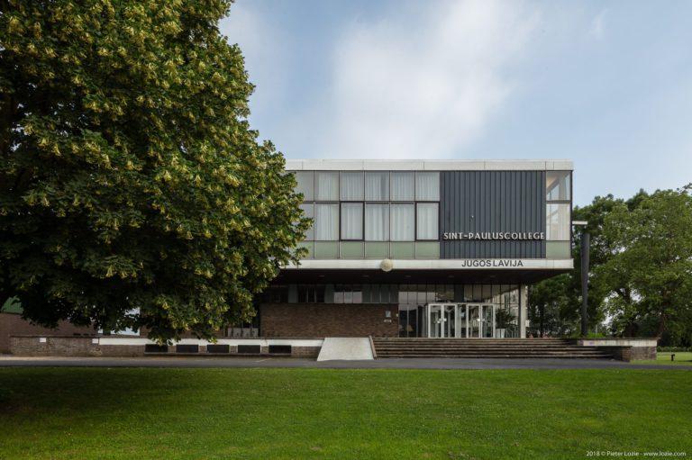 Yugoslavia World Expo 58 pavilion, Brussels, Belgium – Sint-Pauluscollege, Wevelgem, Belgium