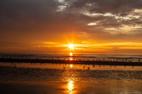 Sunset 20210725 2149, Oosterstaketsel, Blankenberge